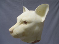 Cat Mask Left Side VIew