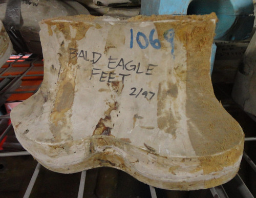 Eagle American Bald Eagle Feet Mold