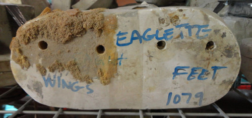 Eaglet Wings & Feet Mold