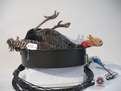 Animated Turkey-in-a-Pot Movie Puppet