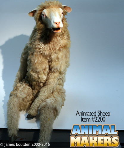 Animatronic Sheep puppet
