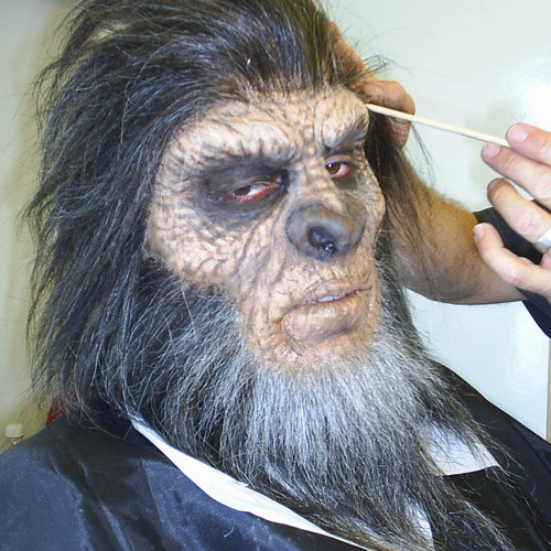 Bigfoot Mask and Wig