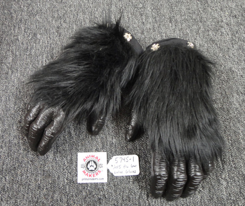Hollywood Film Quality Gorilla Costume - Grodd's Latex Gloves