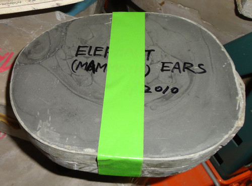 Realistic Mammoth Scale Model Ears Mold