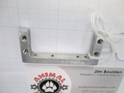 Aluminum Servo Mounting Bracket pre-drilled 1.77 inch