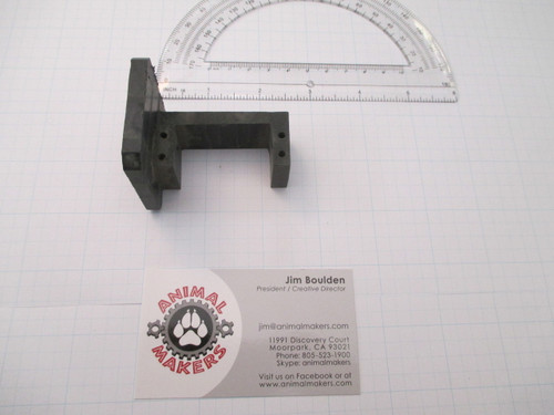 Servo Mount 1.61 inch wit attached plate (machined as one piece)