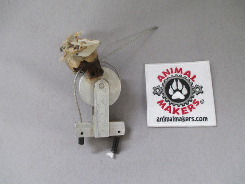 1.5 inch pulley side view
