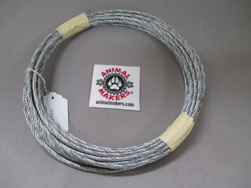 """3/16"""" Steel Cable- 35 ft. length"""