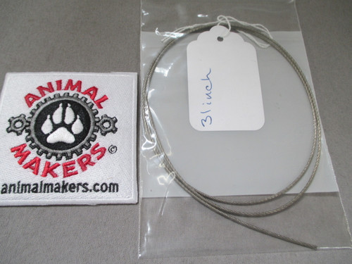 """1/16"""" Steel Cable- 31 inch Length"""