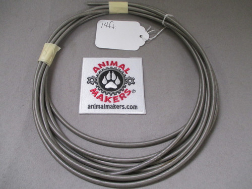 Super Flexible Steel Cable Housing/Conduit for 1/16 inch Cable- 14 ft.