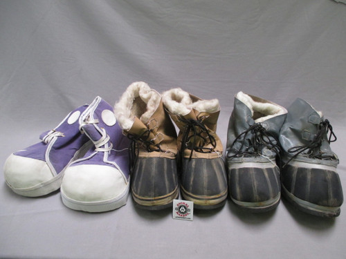 Oversized Costume Shoes LOT (all 3 pairs)