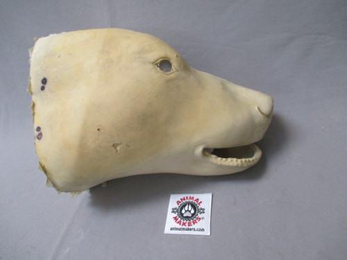 Realistic Polar Bear Mask- covering for animatronic core