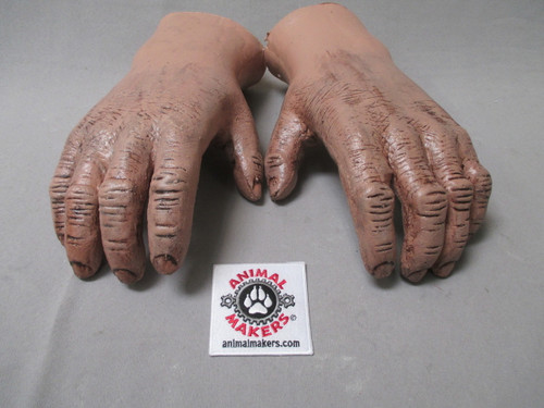 Bigfoot Yeti Costume Hands- unfinished