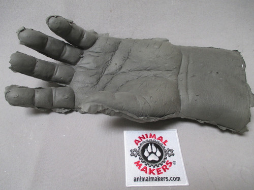 Foam Latex Gorilla Hand Left- unfinished