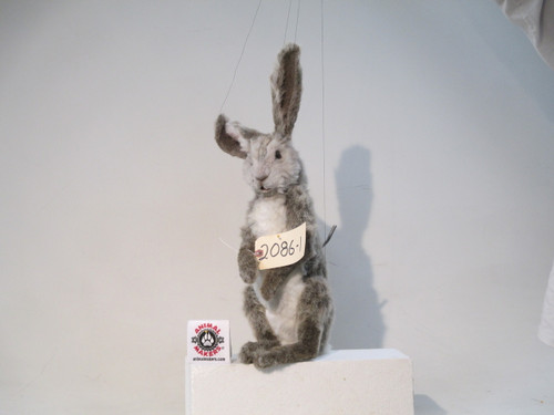 Realistic Brown Rabbit Hare Replica Puppet