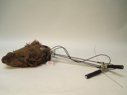 Animated Realistic Beaver Puppet with Controllers