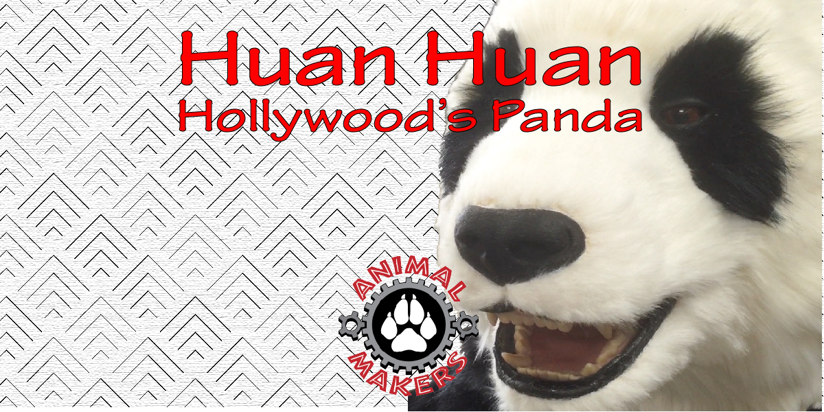 Huan Huan the Panda Costume