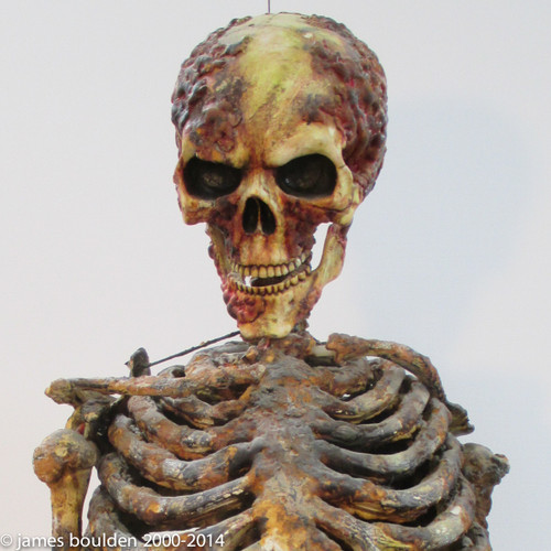 Scary Movie 2 Skeleton Puppet with Animatronic Head