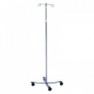 IV Stand (4 leg, 2 hook, 47″ – 92″)