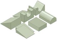 General Positioning Sponge Kit D - Stealth Foam