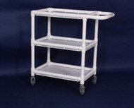 "MRI Mini Mobile Shelf Cart (16""x32""x32"" with 3 pocket organizer)"