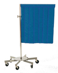 Non-Graduated Portable X-Ray Shield (nylon, royal blue)