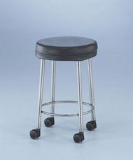 """Non-Magnetic Seated Stool (21"""", rubber feet)"""