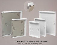 XRAC Grid Encasements with Channels