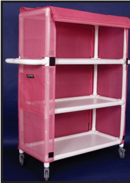 "Three Shelf Mobile / MRI Cart (20""x32""x60"")"