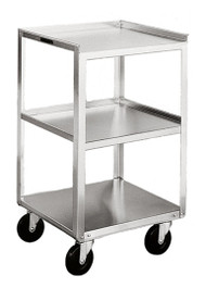 Stainless Steel Utility Cart (400lb. capacity)