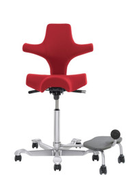 Ergo Chair for Technologists (step-up relaxer foot rest)