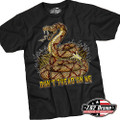7.62 Design Black Don't Tread on Me T-Shirt