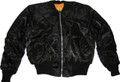 Black Flight Jacket MA-1
