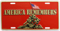 America Remembers License Plate
