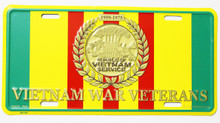 Republic of Vietnam, Vietnam War Veterans License Plate