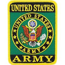 PM1188 Eagle Emblem INC Army Patch