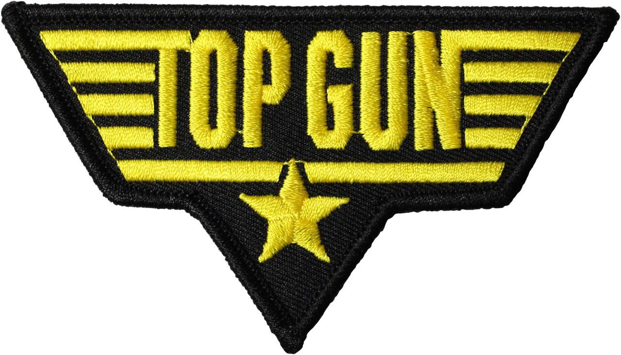 top gun patch gold