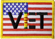 Vietnam Veteran Flag Patch