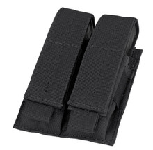 Black Double Pistol Magazine Pouch