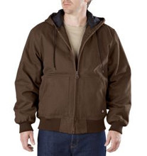 Dickies Timber Brown Sanded Duck Hooded Jacket