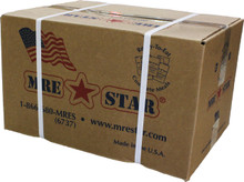 MRE Star MRE's with Flameless Heaters, Case of 12.