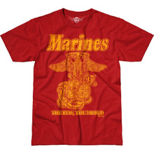 Vintage Marines Shirt by 7.62 Design