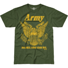 Vintage Army T Shirt by 762 Design