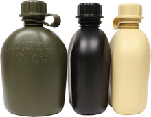 Military Plastic 1 Quart Canteen