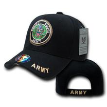 Rapid Dominance Black Army Logo Baseball Cap