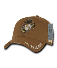 Marines Coyote Ball Cap
