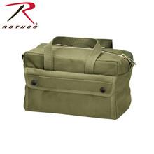 OD Mechanics Bag with Brass Zipper
