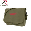 OD Canvas Israeli Paratrooper Bag