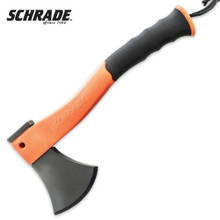 Schrade Survival Hatchet Orange Handle