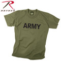 Rothco Kids Army Physical Training T-Shirt OD
